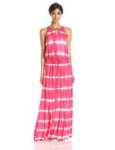 Calvin Klein Women's Tie Dye Keyhole Maxi Dress, Watermelon, X-Small Calvin Klein http://www.amazon.com/dp/B00T3J04A0/ref=cm_sw_r_pi_dp_QJYMvb19FVCK7