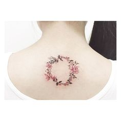 : Flower Laurels . . Close up . #tattooistbanul #tattoo #tattooing #design…