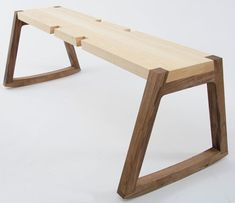 TWIN bench by Andrea Rekalidis - neat joinery