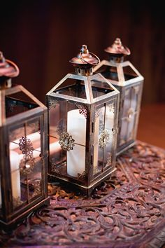 Create your free Wedding Website with over 160 customizable designs. Candle Lanterns, Candles, Wedding Centerpieces, Real Weddings, Create Yourself, Candle Holders, Inspirational Photos, Design, Porta Velas
