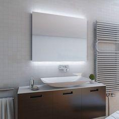 Hornbach Badspiegel design led lichtspiegel dsk silver moon 80x120 cm bei hornbach