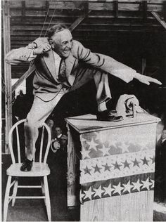 High-energy preacher Billy Sunday was a leader in the fight for Prohibition.  A former baseball player, he often raced back and forth across the stage and climbed on the podium.