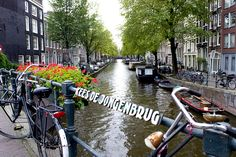 Kees De Jongenbrug, of course.  #amsterdam #travel #canal