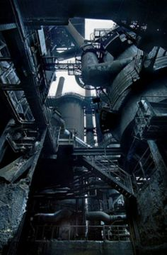 Ruines industrielles (c) Yves Marchand & Romain Meffre