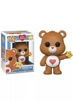 Care Bears Tenderheart Bear Funko Pop for sale online Funko Pop Figures, Pop Vinyl Figures, Best Funko Pop, Funko Pop Anime, Funko Pop Dolls, Pop Figurine, Funk Pop, Cute Canvas Paintings, Miraculous Ladybug Movie
