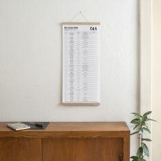 Kleinwaren / von Laufenberg – Der A2 Wandkalender 2020 mit Posterleiste | selekkt.com Floating Nightstand, Planer, Home Appliances, Couch, Cabinet, Storage, Table, Design, Furniture