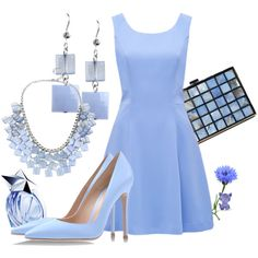 A fashion look from January 2014 featuring Forever New dresses, Gianvito Rossi pumps and Haskell necklaces. Browse and shop related looks.