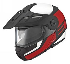 Schuberth E1 Motorcycle Helmet Red