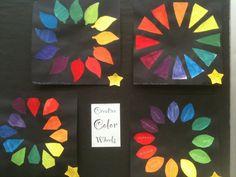 Visual Art at William Hall Academy 2008 - 2011: Creative Color Wheels