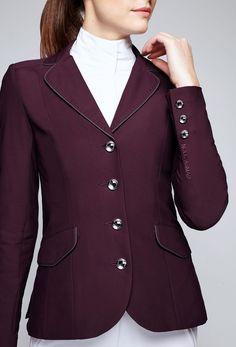 Asmar London Show Jacket Chianti- Riding Apparel
