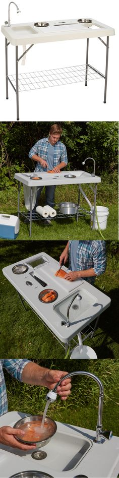Fillet Tables and Cutting Boards 161823: Fish Cleaning Table Folding ...