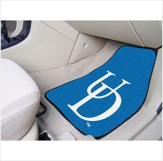UNIVERSITY OF DELAWARE .. Don't leave your school spirit at home...take it on the road with the NCAA carpeted car mats from Fanmats! Protect your vehicle's flooring while showing your team pride with car mats by FANMATS. 100% nylon face with non-skid vinyl backing. Universal fit makes it ideal for cars, trucks, SUVs, and RVs.$26.95