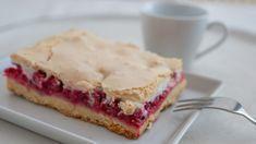 Ríbezľový koláč s bielkovým snehom   Recepty.sk Pavlova, Baked Goods, Smoothie, Sandwiches, Bakery, Pie, Recipes, Food, Pastries