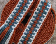 Inkle Weaving Medieval Trim Inkle Woven Hand Woven by inkleing Inkle Weaving Patterns, Loom Weaving, Loom Patterns, Hand Weaving, Diy Tarot Cards, Inkle Loom, Shetland Wool, Loom Bands, Yarn Projects