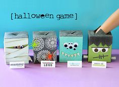 Be Different...Act Normal: Halloween Games [Free Printables]