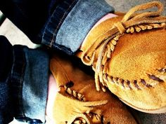 There will always be a special place in my heart for Minnetonka Moccasins...even if they are #trendy now