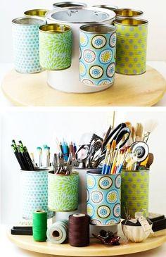 Useful DIY Desk Organizers