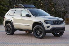 Jeep Grand Cherokee EcoDiesel Trail Warrior Concept Vehicle