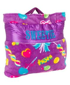Look at this Personalized Candy Napbag on Zulily!
