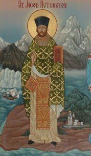 ST. JACOB OF ALASKA (26 JULY AND 16 OCTOBER)    Troparion for St. Jacob  (Tone 4)  O righteous Father Jacob, adornment of Atka and the Yukon delta, thou didst offer up thyself as a living sacrifice to bring light to a searching people. Offspring of Russian America, flower of brotherly unity, healer of sickness, and terror of demons, O Holy Father Jacob, pray to Christ God that our souls may be saved. Amen.  http://en.wikipedia.org/wiki/Jacob_Netsvetov