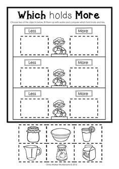 Capacity inspired lesson from kindergarten kindergarten
