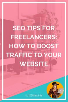 Dream about landing a spot on the front page of Google?  On-page SEO is a powerful weapon in any freelance business owner's arsenal.  What is  S earch  E ngine  O ptimization?  It's the practice of optimizing your blog posts and website pages to rank higher and win more traffic from search engines.
