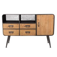 Dutchbone High Gin Dressoir A Shelf, Shelves, Tall Sideboard, Drinks Cabinet, Neat And Tidy, Everyday Items, Organic Shapes, Open Shelving, Contemporary Furniture