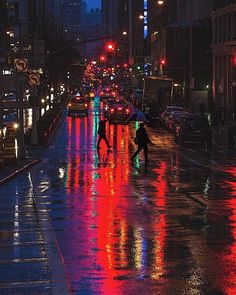 Rain Photography, Street Photography, Landscape Photography, Nocturne, Rainy City, City Aesthetic, Neon Nights, Going To Rain, Rainy Night