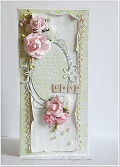 Made by Groszek: Zieleń i róż/Green & pink