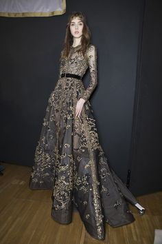 Elie Saab Couture, Fall 2017 - The Most Beautiful Backstage Photos From Paris Couture Week - Photos