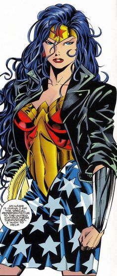 Wonder Woman---that's why I love Wonder Woman, we have the same name. :)