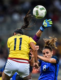 France v Colombia: Women's Football - Olympics: Day -2