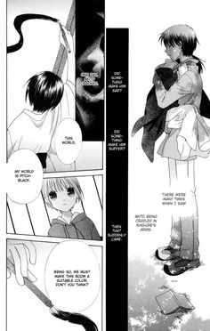 This makes me so sad. TT_TT When I think of how happy Akito could've originally been if her parentage had been different.