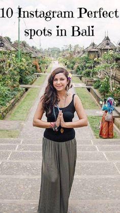 10 Beautiful Spots in Bali that are Instagram Worthy #Bali #WonderfulIndonesia
