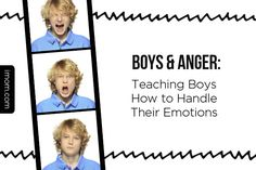 Boys need to remember one thing most of all when it comes to their feelings (especially anger)—they always have a choice for how to respond. Here's how to teach your son to handle his emotions in a constructive way. #parenting #boys #anger