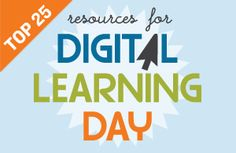 Edutopia: Digital Learning Day: Resource Roundup. The second annual Digital Learning Day is on February 6, 2013. We've compiled some useful resources on digital learning to help you celebrate the day with your class.