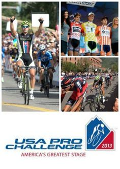 Pro Cycling Challenge | This Monday, the first stage of the 2013 USA Pro Cycling Challenge began in Aspen, Colorado bringing out hundreds of thousands of spectators and cycling enthusiasts. Repin if you are planning to watch live! www.boulderhomesource.com #ProCyclingChallenge #Colorado