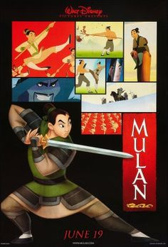 Mulan is a bamf. She's the hero of her own story.