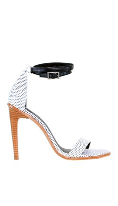 Spice up your outfit with a pair of leather strappy sandals