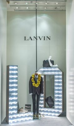 Lanvin Window Display | LOVE