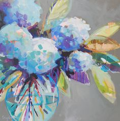 "Blooming into June 9 48"" x 48"" SOLD"