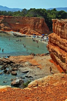 Las Salinas Beach, Ibiza, Spain.I want to go see this place one day.Please check out my website thanks. www.photopix.co.nz