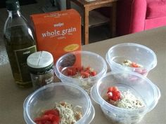 Grab 'n Go Lunches - The Kitchen Table -