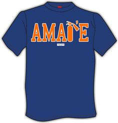 Pretty clever Amar'e t-shirt after his self-inflicted injury.