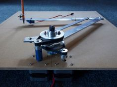 CNC Drawing Arm: a. text-decoration: none; } This instructable describes an robotic drawing arm that doubles as a plot. 3d Printing Machine, 3d Printing Diy, Cnc Machine, Diy Electronics, Electronics Projects, Scara Robot, Xy Plotter, Arduino Cnc, Cnc Lathe