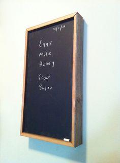 Chalkboard by decoratelier on Etsy, $100.00