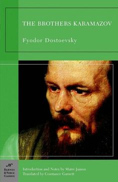 The Brothers Karamazov by Dostoevsky from Lauren Biggs, Office Manager