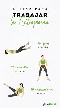 Simple Exercises to Harden the Inner Thighs Best Workout Routine, Gym Workout Tips, Gym Tips, Fitness Workout For Women, Easy Workouts, Yoga Fitness, At Home Workouts, Fitness Tips, Fitness Studio Training