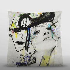 #pillows by #SandrinePagnoux https://www.artboxone.de/artist/sandrine-pagnoux