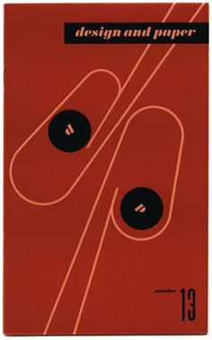 Ladislav Sutnar: CONTROLLED VISUAL FLOW [DESIGN AND PAPER NUMBER 13]: New York: Marquardt & Company Fine Papers, n. d. [1943].